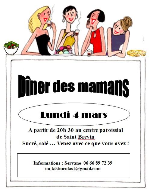 dîner 4 mars